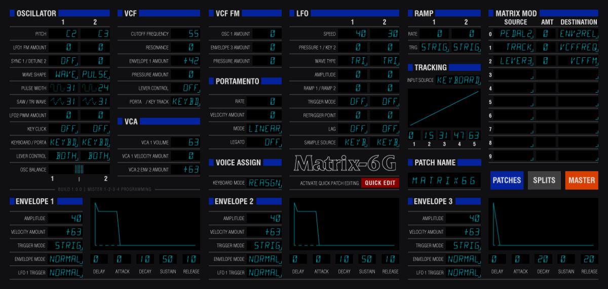 Next Up: Matrix-6G VST3